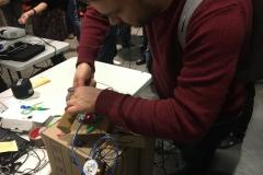 Plugging in sensors
